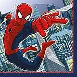 Spiderman Beverage Napkins, 16ct