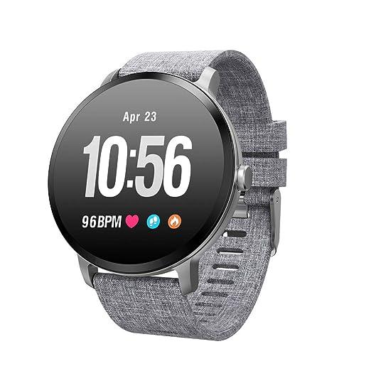 HUIGE Smartwatch 1,3 Pulgadas Pantalla OLED, Android Wear ...