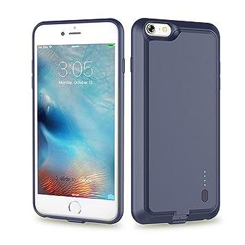 Roop iPhone 6 plus/6S plus 2800mah recargable caso ultra slim carcasa con cargador con batería de alta capacidad para iPhone 6 plus/6S plus