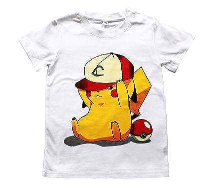e3080951109a UK SELLER Pokemon Go Boys Girls Kids Unisex 100% Cotton T Shirt ...