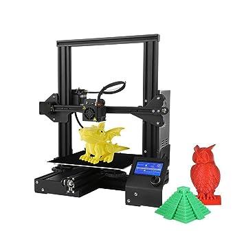 Colorfish A13 Impresora 3D El kit de bricolaje es fácil de instalar, el marco está hecho de aluminio y tiene la función de restaurar la impresión. El ...