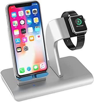 Upwade Smart Watch Stand,Smart Phone Carga Dock Soporte Cargador ...