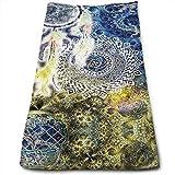 Best Brookstone Bath Towels - CHJOO Towel Waxdye Hippy Zen Yoga Big Dreamer Review