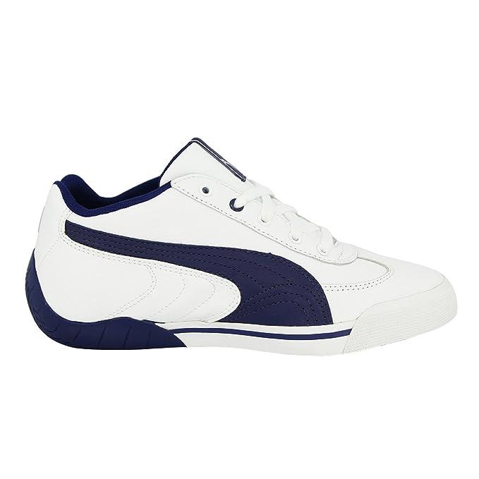 2683808b845 Puma Speed Cat 2.9 Low Chaussures Mode Sneakers Enfant Cuir Noir Blanc   Amazon.fr  Sports et Loisirs