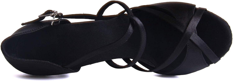 Syrads Chaussures de Danse Latine Femmes Salsa Bachata Moderne Tango Valse Chaussures Danse De Salon 1010-7.5