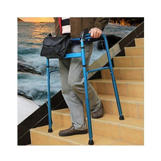 WENTAO Andador Plegable, discapacitados Ancianos Estar de pie ...