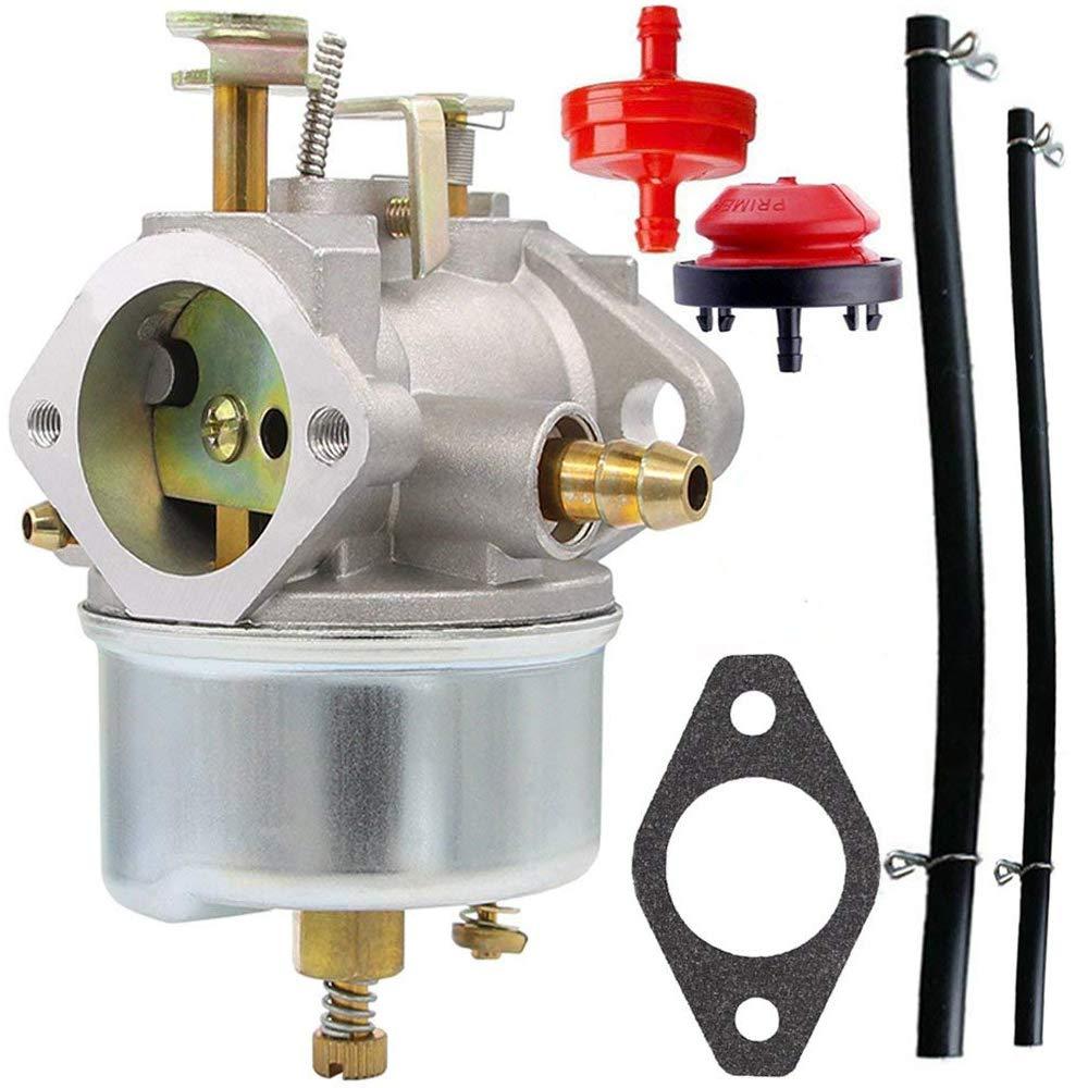 HOOAI 632334A Carburetor for Tecumseh 632370A 632110 632111 632334 632370 632536 640105 Replaces Tecumseh 632334a Carburetor by HOOAI