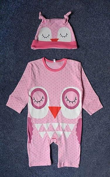 Jixin4you Newborn Baby Boy Girl Soft Cute Stripes Cow Romper Clothing Set RA09