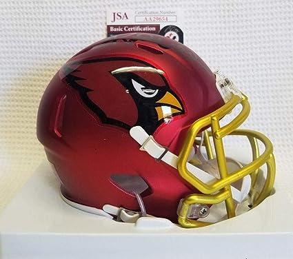 d4106b2c80b Signed Kurt Warner Mini Helmet - Blaze Riddell - JSA Certified - Autographed  NFL Mini Helmets