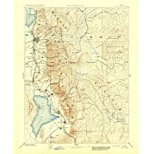 Salt Lake UT topo map, 1:250000 scale, 1 X 1 Degree, Historical, 1885, updated 1930, 19.9 x 16.5 IN