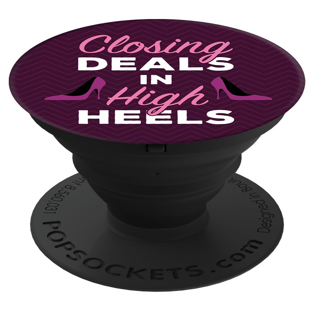 PopSockets Cell Phone Stands - Smartphones & Tablets - ''Brave New Look Closing Deal In High Heels''