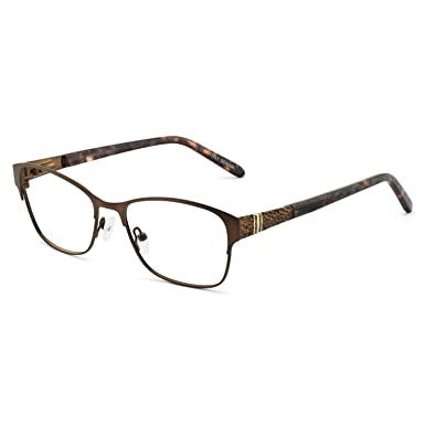 8c08183be4bc Glasses Frame Optical eyewear Frame Womens Rectangle Stylish Eyewear Frame  Non-Prescription Clear Lenses
