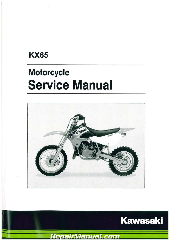 Kx65 service manual
