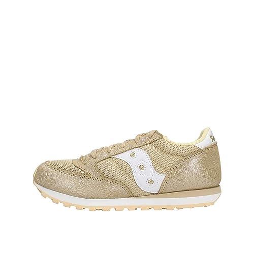 SAUCONY SK161209 Jazz Original Zapatos de Oro niña niña