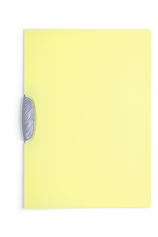 Durable 226600 Klemm-Mappe swingclip Color aus PP, bis zu 30 Blatt A4 25er Packung farbig sortiert