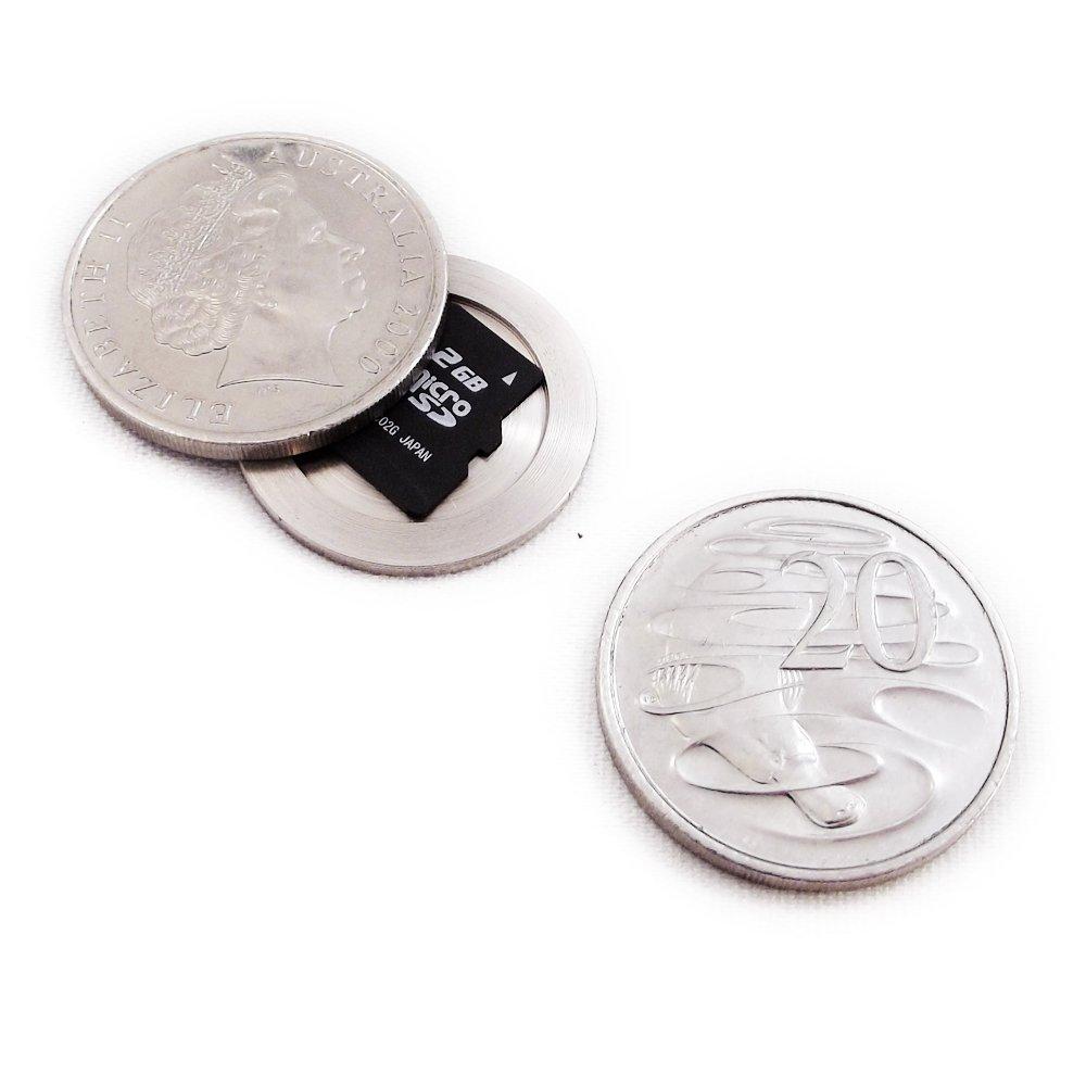 Covert Compartment 20c Australian Coin