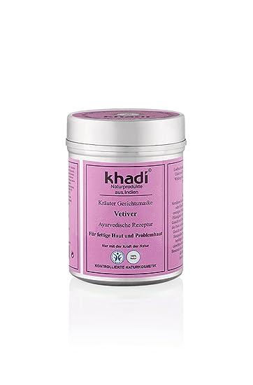 Khadi Vetiver Gesichtsmaske für unreine Haut