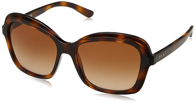 DKNY 0Dy4147, Gafas de Sol para Mujer, Marrón (Dark Tortoise ...