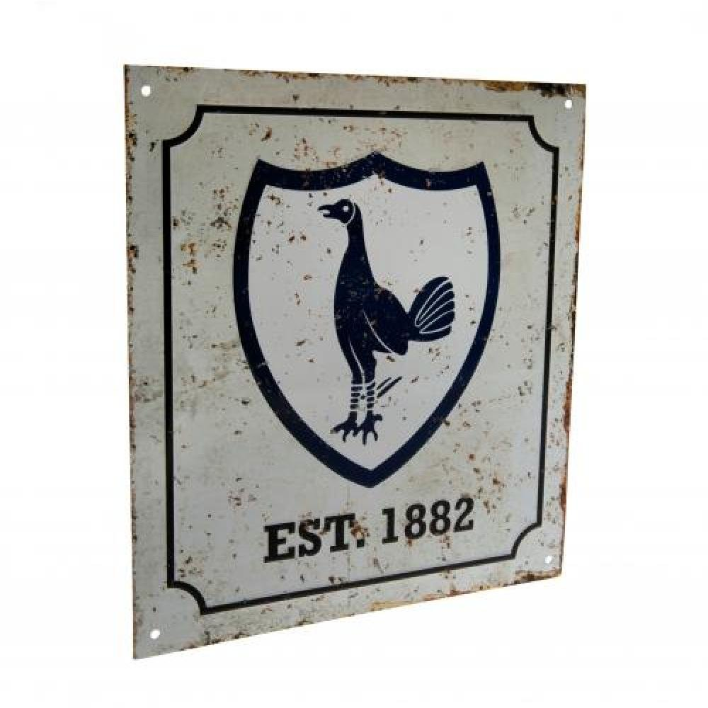 Tottenham Hotspur FC Official Football Gift Retro Logo Sign - A Great Christmas / Birthday Gift Idea For Men And Boys