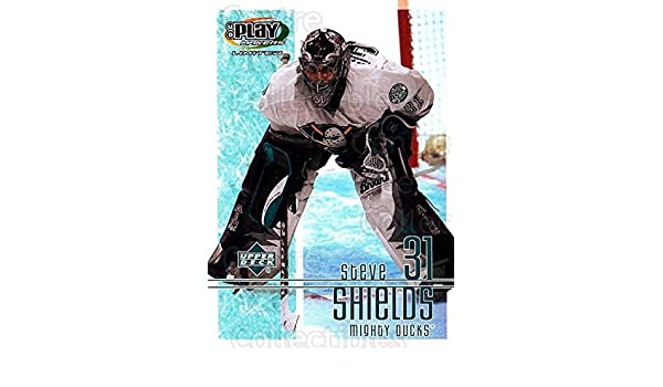 Amazon.com: (CI) Steve Shields Hockey Card 2001-02 UD Playmakers (base) 1 Steve Shields: Collectibles & Fine Art