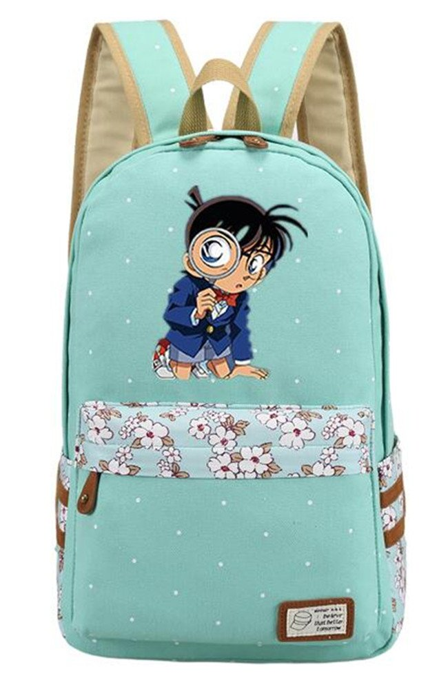 3be8e205508b Siawasey Anime Detective Conan Bookbag Backpack School Bag 30%OFF ...