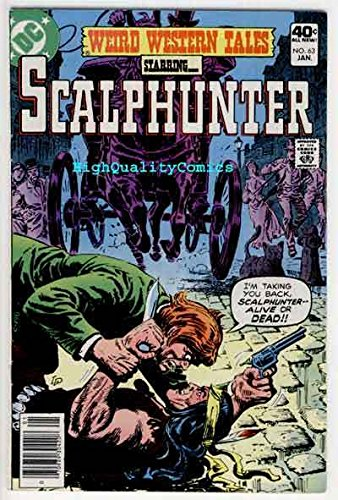WEIRD WESTERN Tales #63,ScalpHunter, Bat Lash,1972, VF
