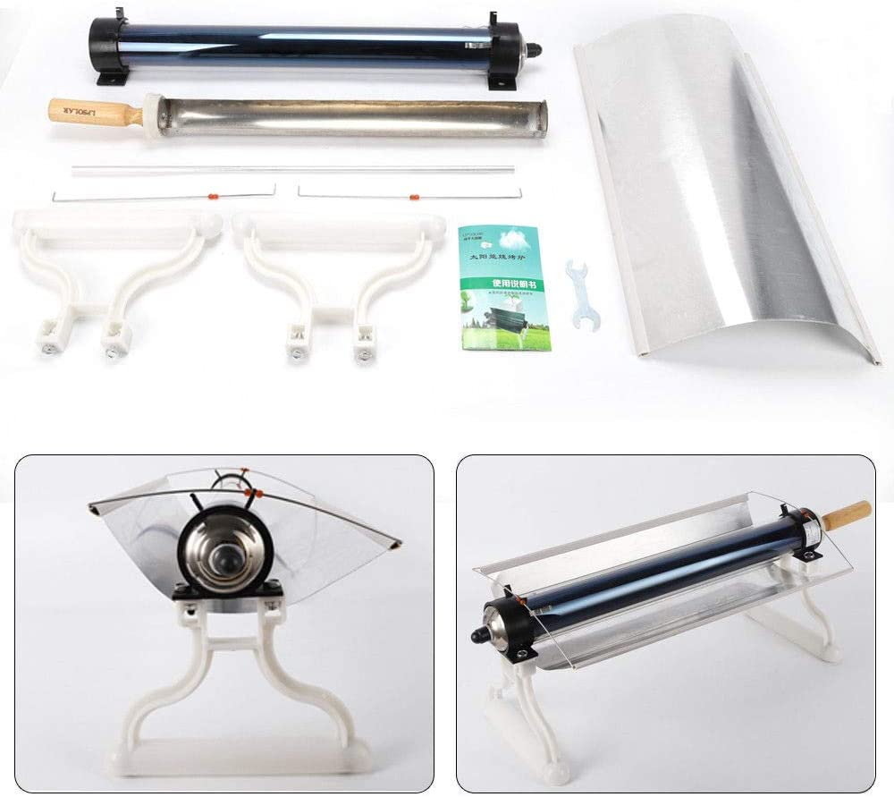 BoTaiDaHong Solar Oven Portable Solar Cooker Roasting Efficiency BBQ for Grilling While Camping Backpacking Outdoor USA