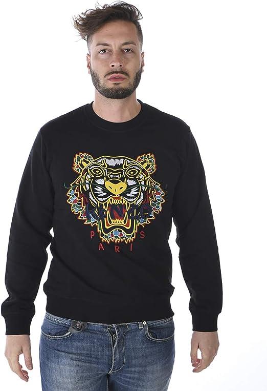 Kenzo Hommes Dragon Tigre Pull, Ras de Cou