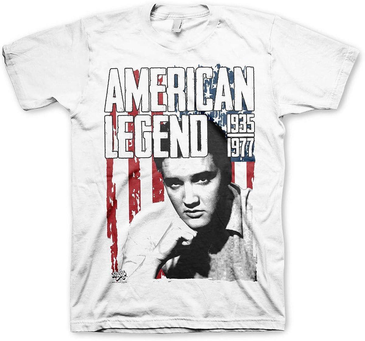 Elvis Presley 1935-1977 Oficial Camiseta para Hombre ...