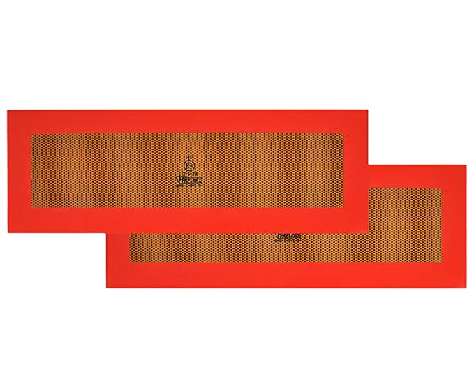 The Caravan Supermarket Pair of Truck Trailer Rear Hazard Warning Marker Red /& White Chevron Board