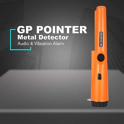fghdfdhfdgjhh Ajuste GP POINTER Handheld Mini Pro Detector de metales de precisión Moneda de plata de