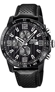 Mens Watch - Festina - F20339/6 - Chronograph - Date - Black