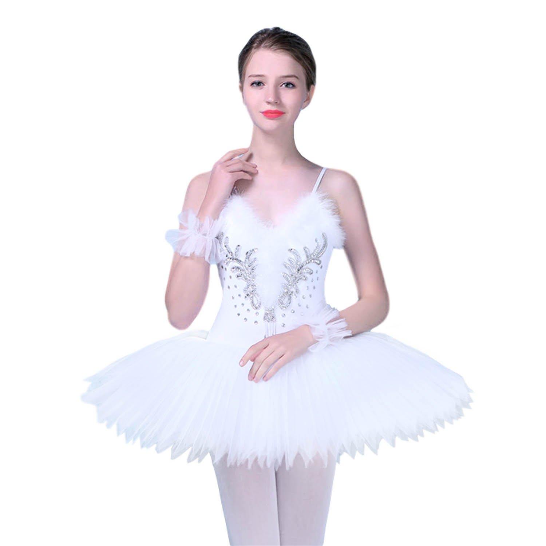 aa3c506ca KAI-ROAD Women Professional Ballet Tutu Costume Hard Organdy Platter 8  Layer Skirt product image