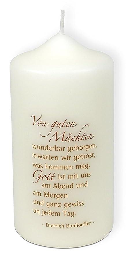 Christliche Geschenkideen Kerze Dietrich Bonhoeffer Von
