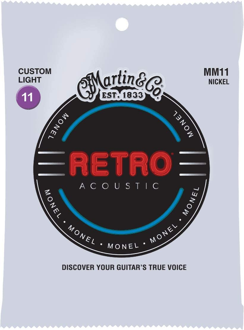 Martin Cuerdas para guitarra acústica (MM11)
