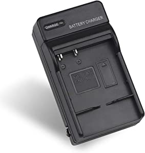 NP-40 Battery Charger for Casio Exilim EX-Z400, EX-FC100, EX-FC150, EX-FC160S, EX-P505, EX-P600, EX-P700, Zoom EX-Z100, EX-Z1000, EX-Z1050, EX-Z700, EX-Z750, EX-Z850, Replacement for BC-31L Charger