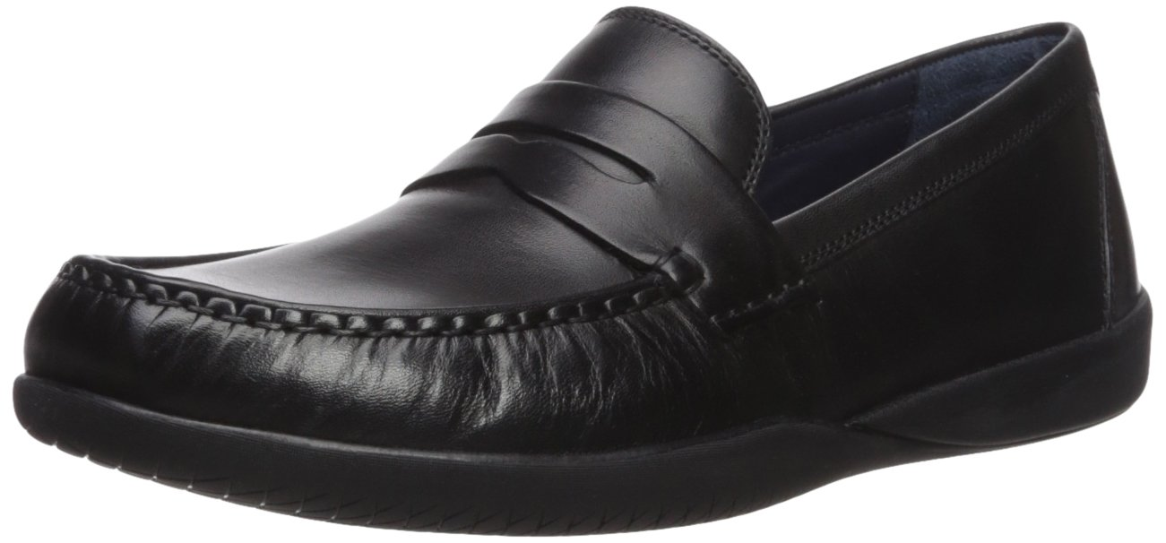Cole Haan Men's Shepard Penny II Loafer, Black/Black, 7.5 Medium US