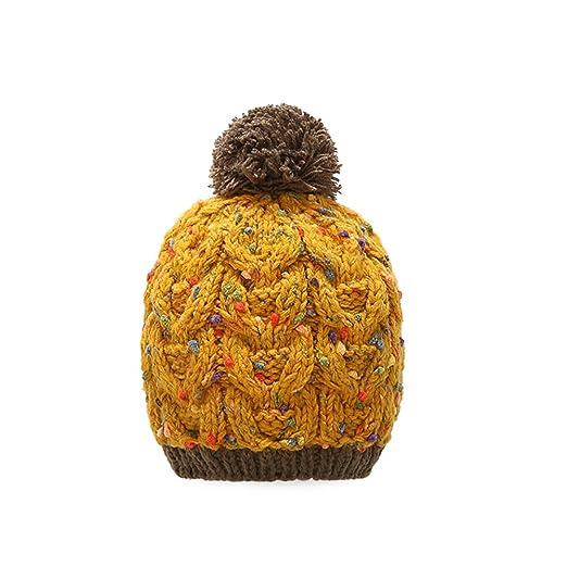 Amazon.com  MOMOLAND Baby Toddler Girls Winter Hat Cap Knit Beanie ... 6fed5b29315
