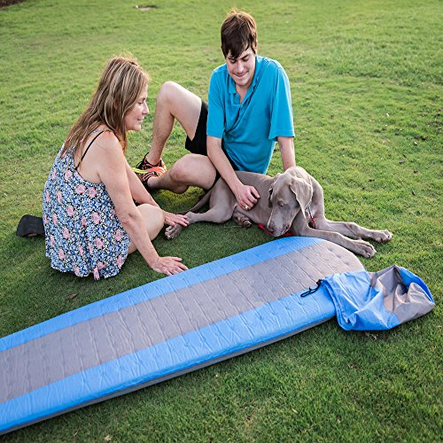 Best Self Inflating Sleeping pad Lightweight Camping Foam pad- Best for Camping Backpacking & Hiking. R Value of 4.9 - Inflatable Camping Mattress
