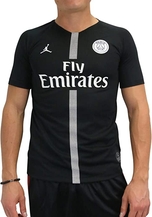 b34d97caa08f Nike Paris Saint-Germain Air Jordan Kids  Third Jersey 2018-2019 Black (