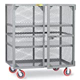 Little Giant Visible Contents Security Trucks - 60''Wx36''Dx56''H - Two Fixed Shelves