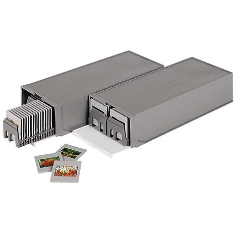 Hama - Cajas deslizante y apilables para diapositivas estándar ...