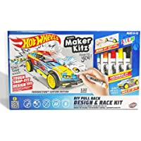 Hot Wheels BTHW-M01Y Maker Kitz DIY Design and Race Kit
