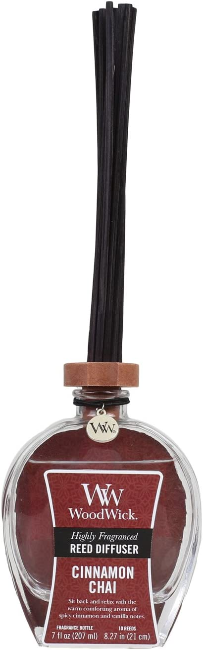 Woodwick Candle Reed Diffuser 7 Oz. - Cinnamon Chai
