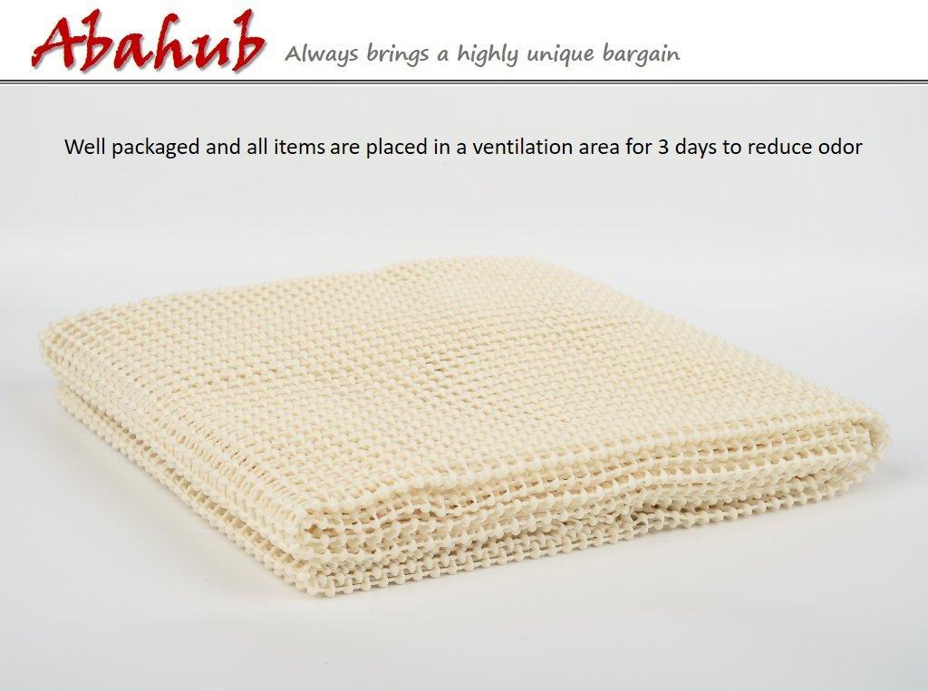 Abahub Anti Slip Rug Pad 8' x 10' for Under Area Rugs Carpets Runners Doormats on Wood Hardwood Floors, Non Slip, Washable Padding Grips by ABAHUB (Image #4)