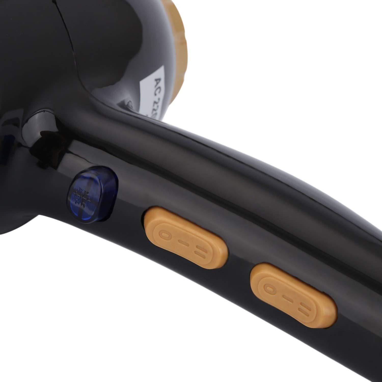 Amazon.com: 220V 3000W Hair Dryer Power Bathroom Salon Special Hair Dryer Compact Styling Ionic Travel Secador de pelo Single nozzle,BLACK: Beauty