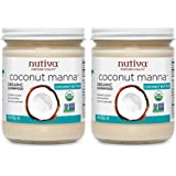 Nutiva Organic Coconut Manna, 15 Ounce (Pack of 2)