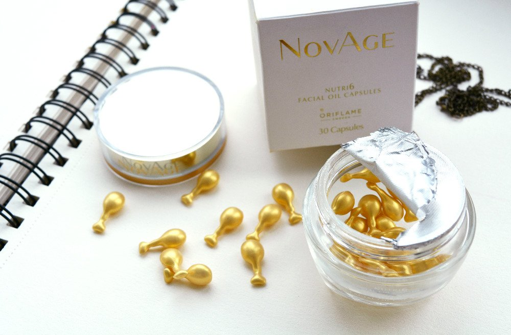 BIG SALE BIG SALE Oriflame NovAge Nutri6 Facial Oil Capsules - Mix from 6 oils Very High Quality SALE FROM 55.50 USD by Oriflame