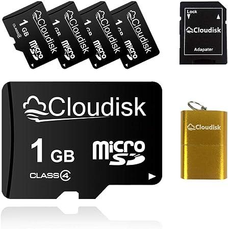 5pcs 1gb Micro Sd Card 1gb Micro Sd Memory Card Class 4 Computers Accessories