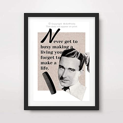 Amazon Com Mens Style Quote Art Print Motivational Saying Text